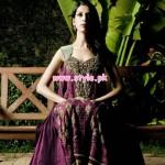 Latest Yasmin Zaman Winter Party Dresses 2012-13 006