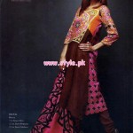 Orient Textiles Latest Linen Collection 2013 For Winter 006