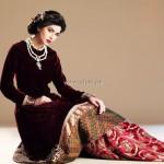 Sameen Kasuri Winter Dresses 2012-13 for Women 006