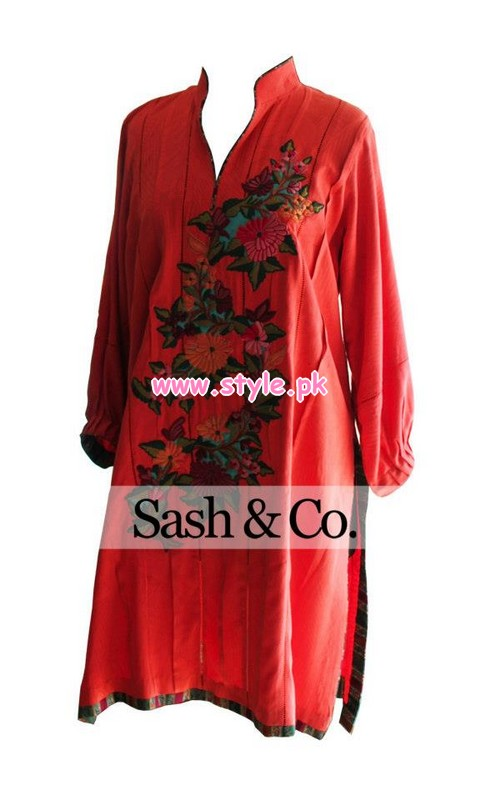 Sash & Co. Winter Collection For Girls 2013 005