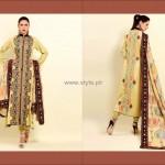 Shaista Winter Fabrics 2012-13 Collection New Designs 004