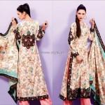 Shaista Winter Fabrics 2012-13 Collection New Designs 009