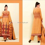 Shaista Winter Fabrics 2012-13 Collection New Designs 014
