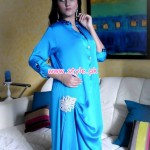 Turquoise Latest Ready To Wear Outfits For Winter 2012 009