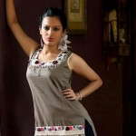 Uzma Creation Winter Tops And Tunics Collection 2012-2013 For Women 0010