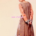 Zahra Ahmad Latest Winter Party Dresses 2012 010