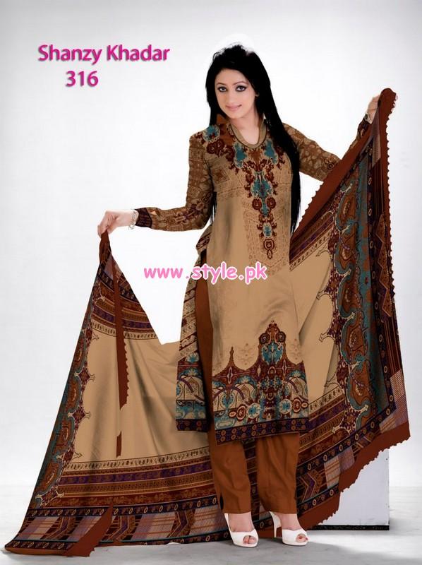 Al-Hamra Textiles Winter Khaddar Collection 2013 018