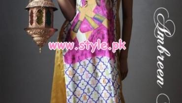 Ambreen Bilal Digital Prints 2013 For women 001