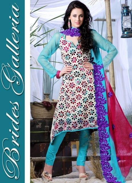 Brides Galleria Winter Salwar Kameez Collection 2013 For Women 003