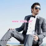 Daniyal Latest Formal Wear Collection For Men 2013 001