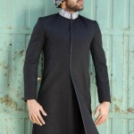 Daniyal Sherwani Winter Collection 2013 For Men 003