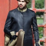 Daniyal Sherwani Winter Collection 2013 For Men 009