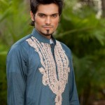 Deepak And Fahad Winter Kurta Collection 2013 For Men 0010