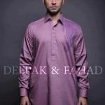 Deepak And Fahad Winter Kurta Collection 2013 For Men 0012