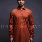 Deepak And Fahad Winter Kurta Collection 2013 For Men 0014