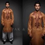 Deepak And Fahad Winter Kurta Collection 2013 For Men 0019