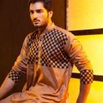 Deepak And Fahad Winter Kurta Collection 2013 For Men 002