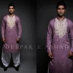Deepak And Fahad Winter Kurta Collection 2013 For Men 0021