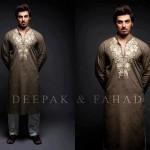 Deepak And Fahad Winter Kurta Collection 2013 For Men 0023