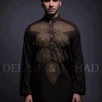 Deepak And Fahad Winter Kurta Collection 2013 For Men 0029