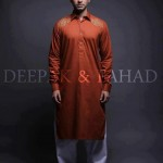 Deepak And Fahad Winter Kurta Collection 2013 For Men 006