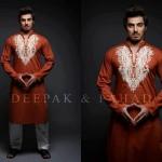 Deepak And Fahad Winter Kurta Collection 2013 For Men 009