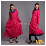 Ego New Winter Casual Dresses 2013 for Ladies 009