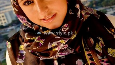 Fashion Of Head Scarves and Hijab Designs 2013 For Girls 001