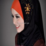 Fashion Of Head Scarves and Hijab Designs 2013 For Girls 003