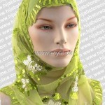 Fashion Of Head Scarves and Hijab Designs 2013 For Girls 004