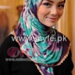 Fashion Of Head Scarves and Hijab Designs 2013 For Girls 012