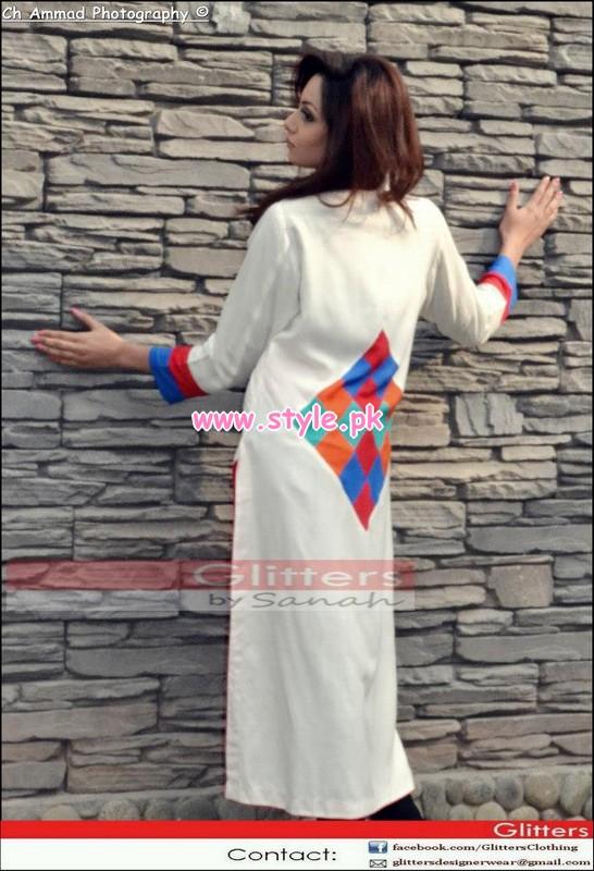 Glitters Winter Casual Dresses 2013 For Women 019