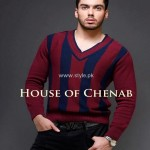 House of Chenab Winter Collection 2013 for Ladies and Gents 001