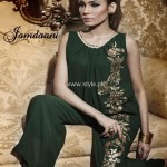 Jamdaani Party Wear Collection 2013 for Women