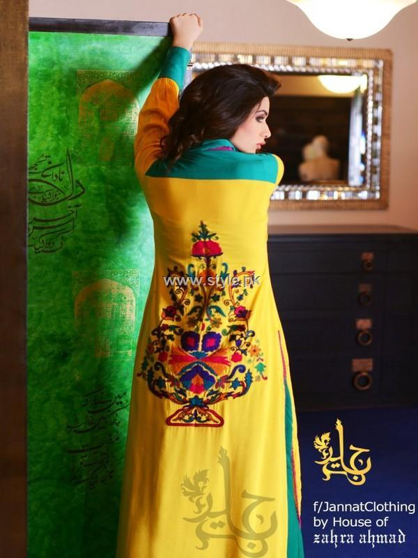 Jannat Nazir Party Wear Dresses 2013 for Girls