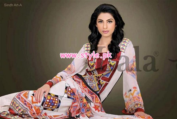 KESA Winter Dresses 2013 Volume 2 By Lala Textiles 007