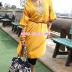Khaadi Latest Winter Dresses For Girls 2013 001