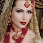Latest Bridal Makeup & Photoshoot By Ather Shahzad  002