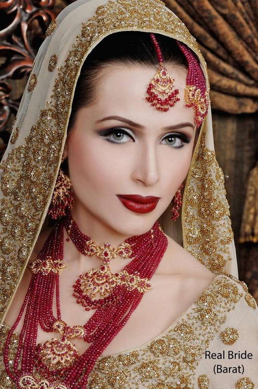 Latest Bridal Makeup and Photoshoot By Ather Shahzad Style.Pk