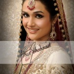 Latest Bridal Makeup & Photoshoot By Ather Shahzad  003