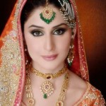 Latest Bridal Makeup & Photoshoot By Ather Shahzad  007