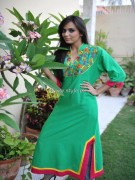 Latest Fashion Of Casual Wear Dresses For Girls 2013
