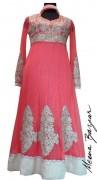 Meena Bazaar Anarkali Winter Collection 2013 For Women 0012