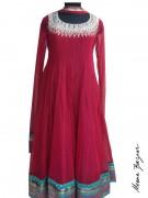 Meena Bazaar Anarkali Winter Collection 2013 For Women 0013