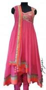 Meena Bazaar Anarkali Winter Collection 2013 For Women 0014