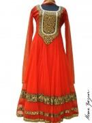 Meena Bazaar Anarkali Winter Collection 2013 For Women 0015