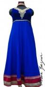 Meena Bazaar Anarkali Winter Collection 2013 For Women 0016