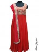 Meena Bazaar Anarkali Winter Collection 2013 For Women 0017