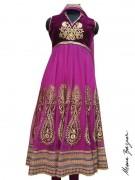 Meena Bazaar Anarkali Winter Collection 2013 For Women 0019
