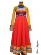 Meena Bazaar Anarkali Winter Collection 2013 For Women 0022